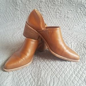 Madewell The Brady Lowcut Bootie- English Saddle